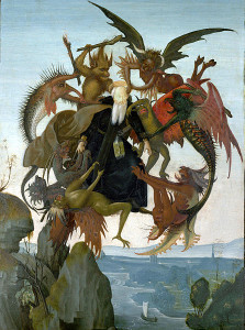 The Torment of St. Anthony (Michelangelo)